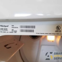 Won't start upon pressing Start button Whirlpool Dryer