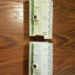 Control board programming Bosch Dishwasher