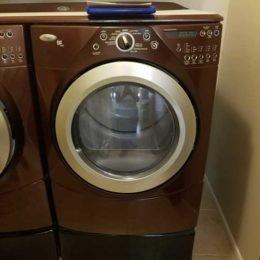 Loud squeak during drying Whirlpool Dryer