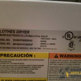 Samsung Dryer not working at all