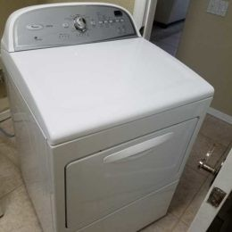 Whirlpool dryer won't dry clothing