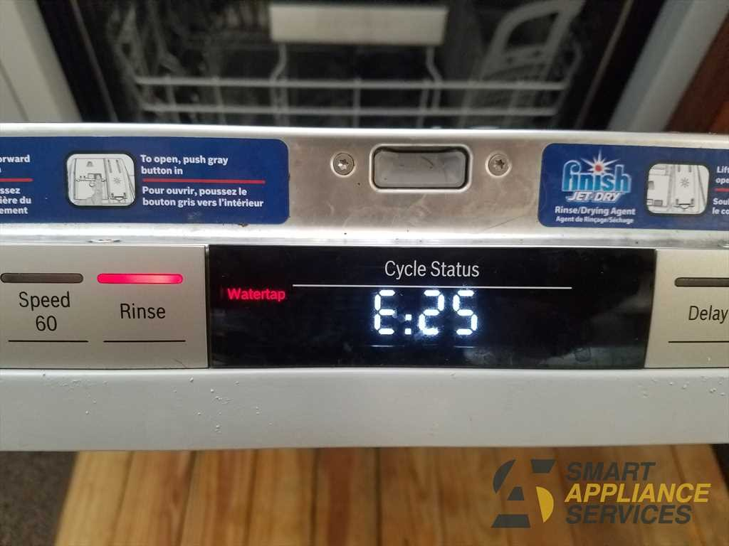 E25 error code Bosch Dishwasher