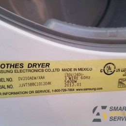 Samsung Dryer won't produce heat