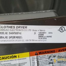 Loud knocking during the drying Samsung Dryer