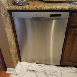 Water leak Bosch Dishwasher