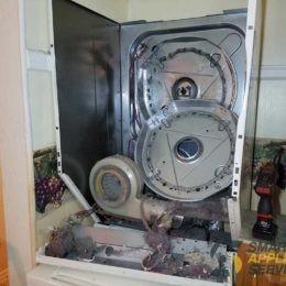 GE Dryer isn't heating