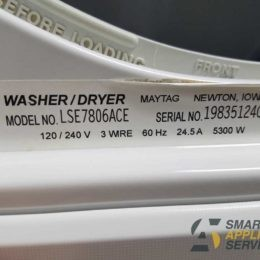 Loud noise during drying Maytag Dryer