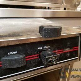 Slow water filling CMA Dishwasher