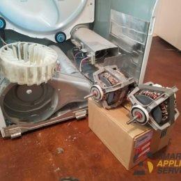 Samsung Dryer motor replacement