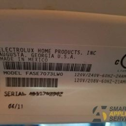 Won't dry clothes Electrolux Dryer