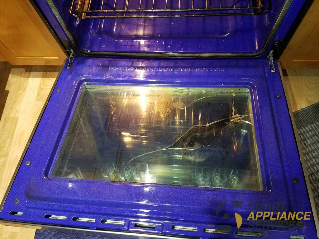 Broken Oven Door Glass Lg Range