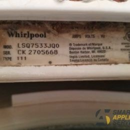 Overfilling Whirlpool washer with water
